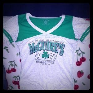 McGuire's tee